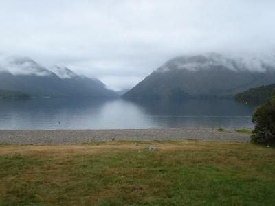 Day 1 walking beside the lake